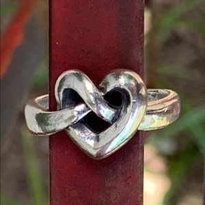 James Avery Heart Knot ring